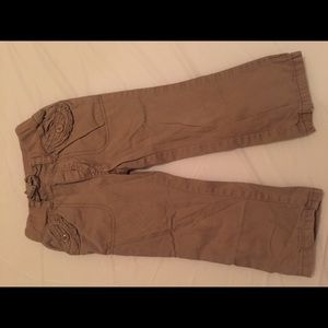 The Children's Place Girls Khaki pants size 3T
